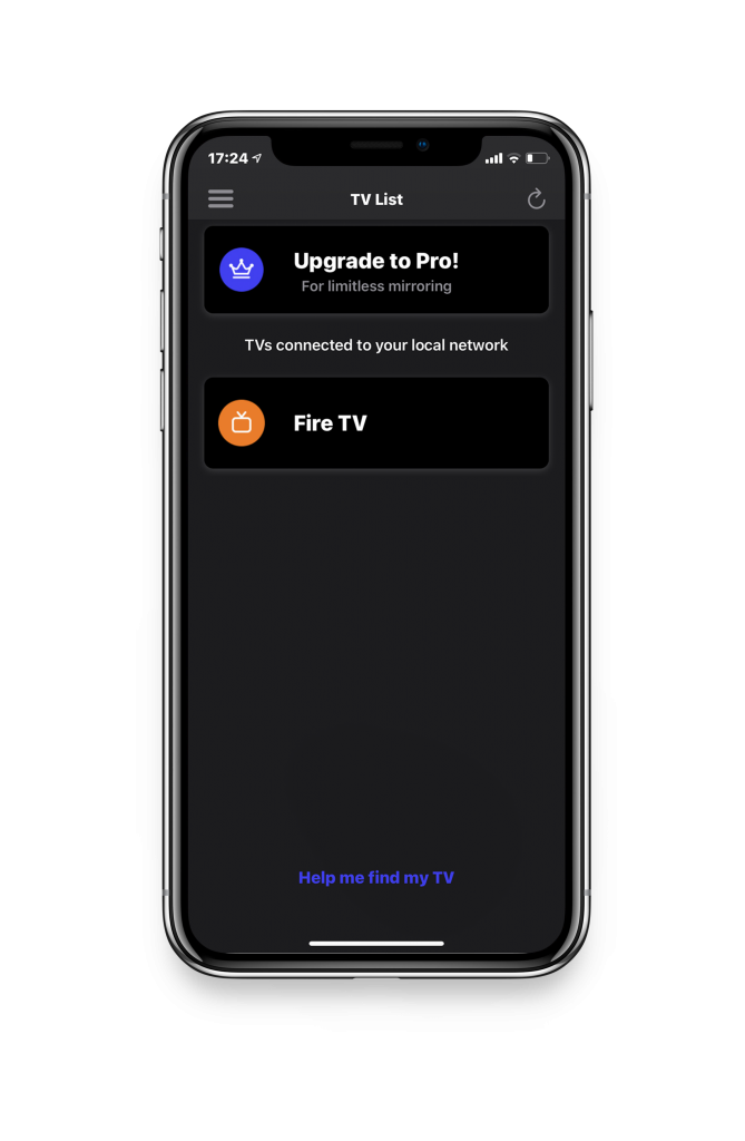 connect to Amazon Fire TV