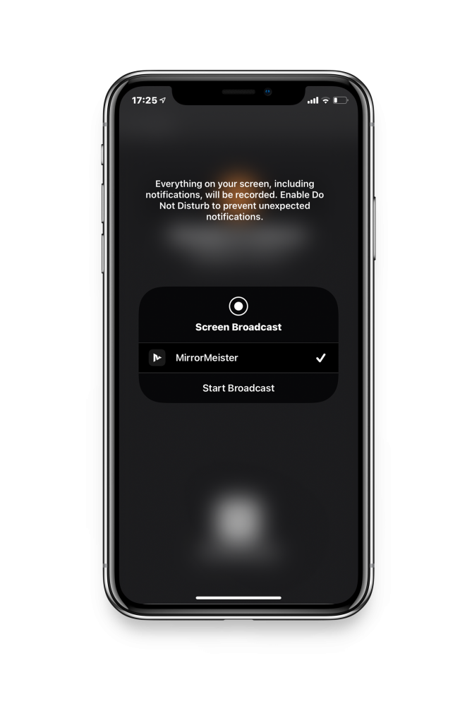 screen mirror iphone