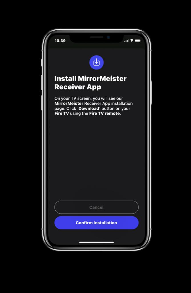 Download MirrorMeister App