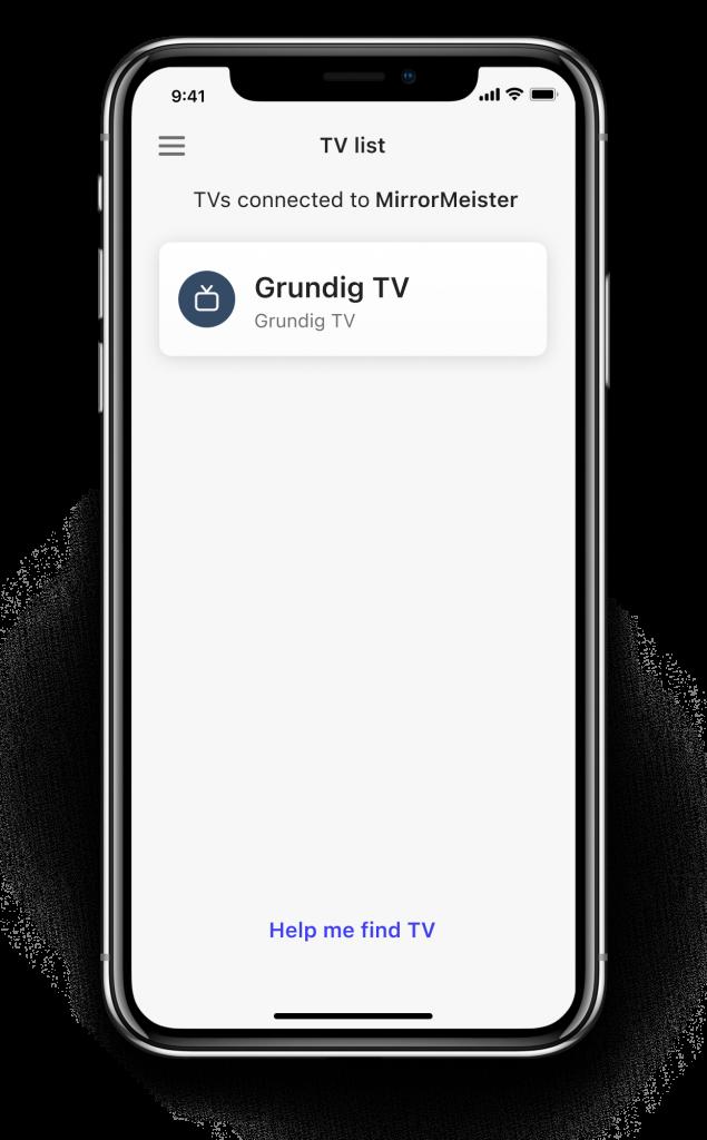 find tv