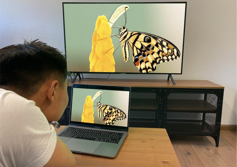 screen mirror Mac to Samsung TV